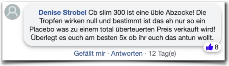 CB Slim 300 Erfahrungsberichte Kritik