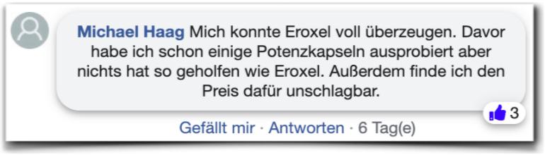 Eroxel Erfahrungen Kundenbewertungen facebook