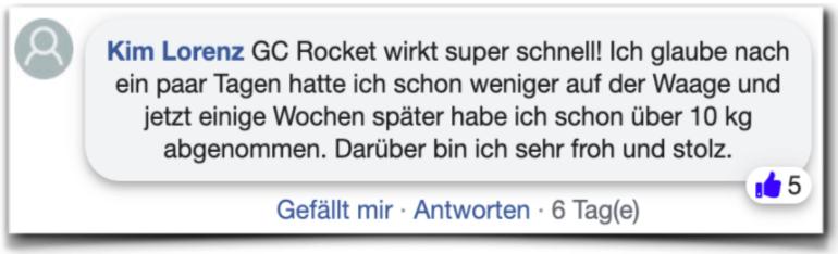 GC Rocket Bewertungen Kundenbewertungen facebook