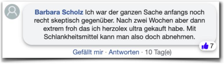 Herzolex Ultra Kundenbewertungen facebook