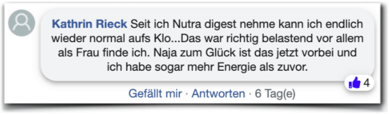 Nutra Digest Erfahrungen facebook