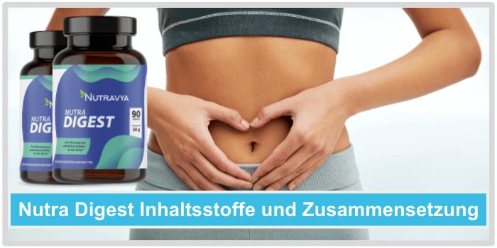Nutra Digest Inhaltsstoffe Wirkstoffe