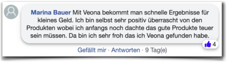 Veona Erfahrungsberichte Erfahrung Veona