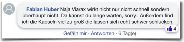 Viarax Erfahrung Kritik Viarax