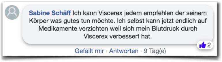 Viscerex Bewertungen Kundenbewertungen facebook