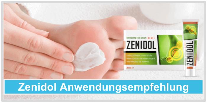 Zenidol Anwendung Dosierung