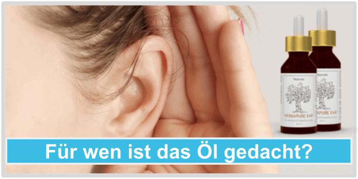 Fuer wen ist Nutresin Herbapure Ear gedacht