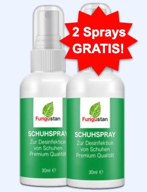 Fungustan Spray Tabelle
