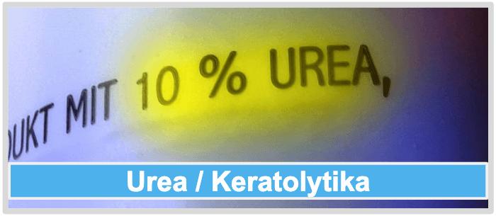Mittel gegen Nagelpilz Urea Keratolytika