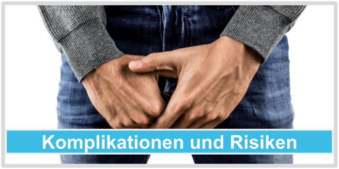 Penis vergrössern Komplikationen Risiken
