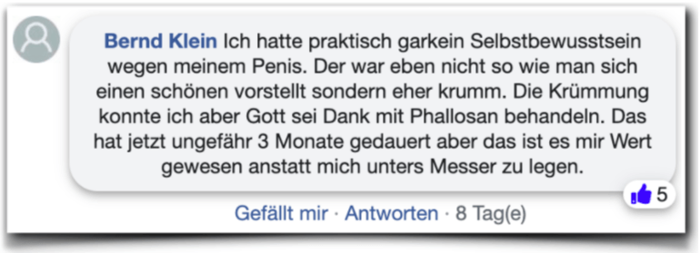 Phallosan Forte Erfahrungen Erfahrungsberichte facebook