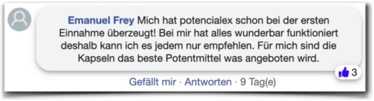Potencialex Erfahrungsberichte Erfahrung