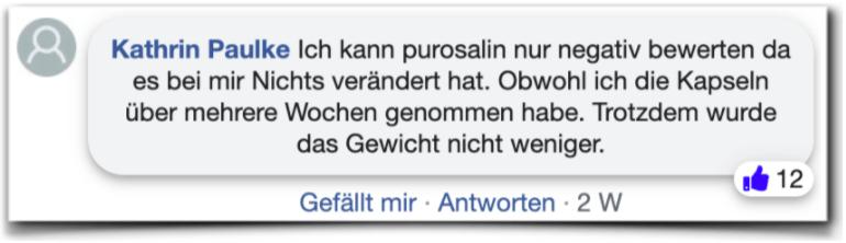 Purosalin Erfahrungen Kritik facebook