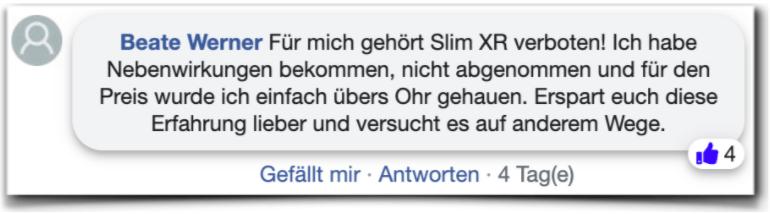 Slim xr Erfahrungsberichte Kritik Slimxr