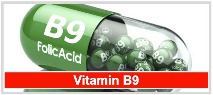 Vitamin B Komplex Vitamin B9