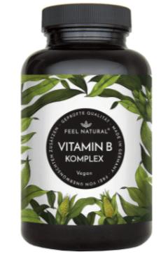 Feel Natural Vitamin B Komplex Tabelle