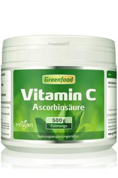 Greenfood Vitamin C Tabelle