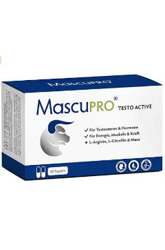 MascuPro Testosteron Tabletten Tabelle