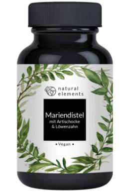 Natural elements Mariendistel Tabelle Abbild