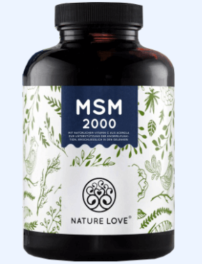 Nature Love MSM Tabelle