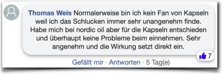 Nordic Oil Bewertungen Kundenbewertungen facebook