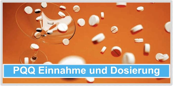 PQQ Einnahme Dosierung