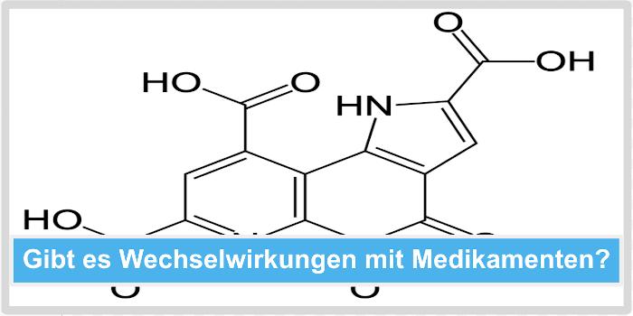 PQQ Wechselwirkungen mit Medikamenten