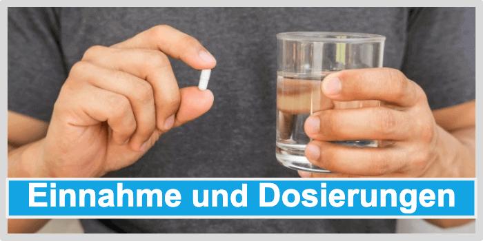 Potenzmittel Einnahmen Dosierung Anwendung