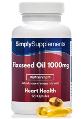 SimplySupplements Flaxseed Oil Tabelle