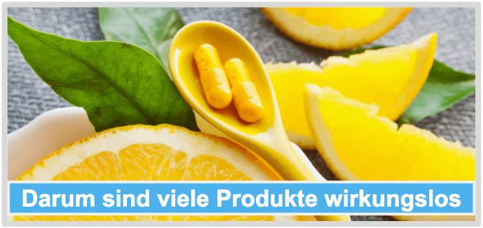 Vitamin C wirkungslos Günde