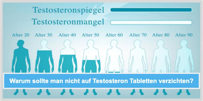Warum sollte man nicht auf Testosteron Tabletten verzichten