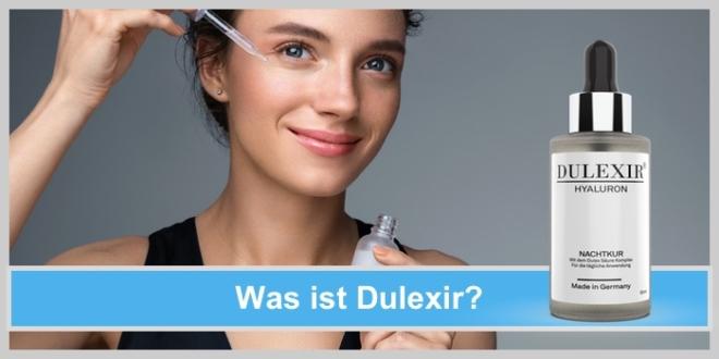 dulexir hyaluron säurekomplex frau gesichtspflege
