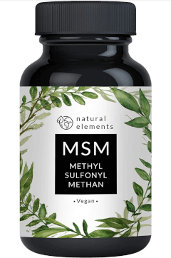 natural elements MSM Tabelle