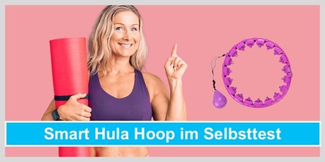 smart hula hoop selbsttest frau yogamatte hula hoop