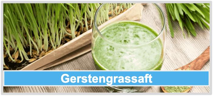 Gerstengrassaft Gerstengras Pulver
