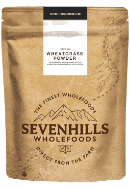 Sevenhills Wholefoods Weizengraspulver Tabelle