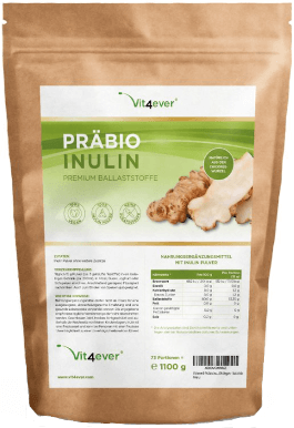 Vit4ever Inulin Pulver Tabelle
