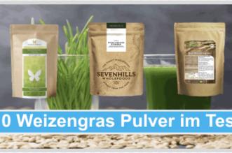 Weizengras Pulver Titelbild
