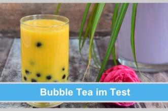 bubble tea glas perlen saft