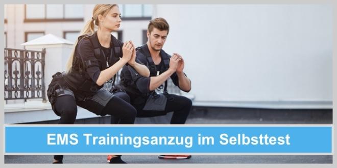 ems trainingsanzug stimulation elektroden muskelaufbau mann frau outdoor gym sport fitness kniebeuge