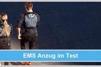 ems anzug laufen joggen pärchen outdoor sport
