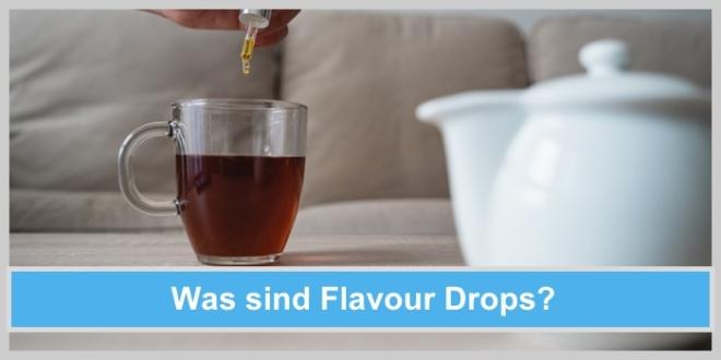 flavour drops aroma tropfen wasser tee süßen ohne zucker