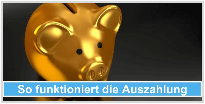 Bitcoin-Bank-Auszahlung