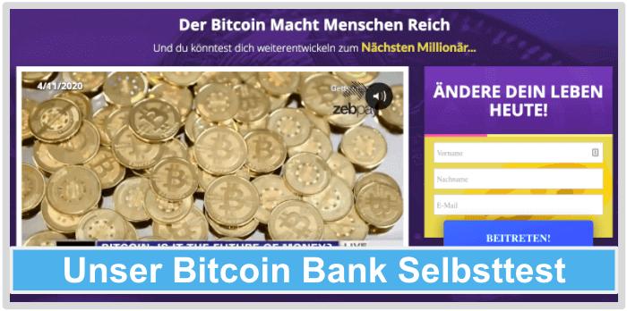 Bitcoin-Bank-Test