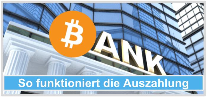 Bitcoin-Trader-Auszahlung