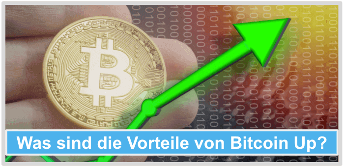 Bitcoin-Up-Vorteile