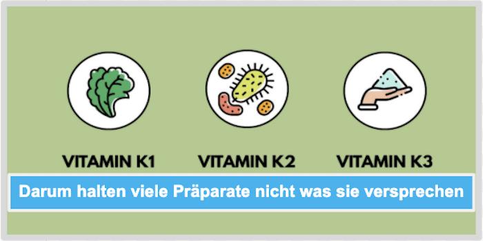 Darum halten viele Vitamin K Praeparate nicht was sie versprechen