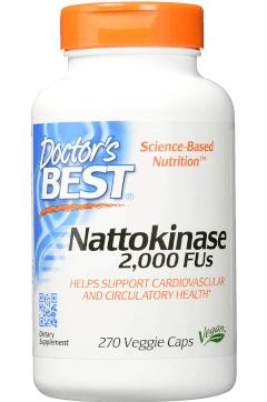 Doctorsbest Nattokinase Tabelle
