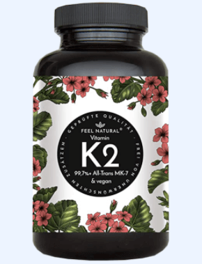 Feel natural Vitamin K Tabelle