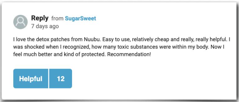 Nuubu experiences ratings reviews Nuubu